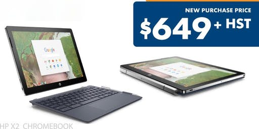 ChromeBook's? Are they for business? Come find out and get $150 off!