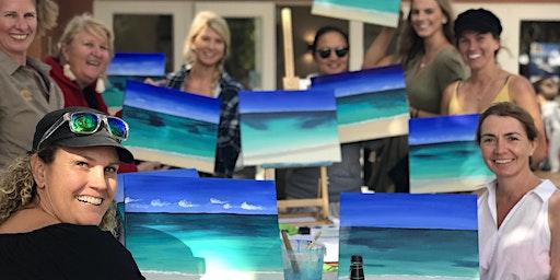 Paint the Ocean by the Ocean