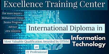 International Diploma in Information Technology tickets