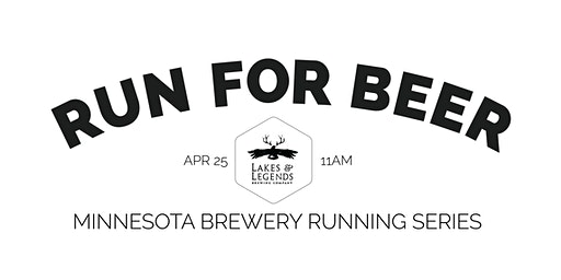 Beer Run - Lakes & Legends Brewing Co | 2020 MN  Brewery Running Series