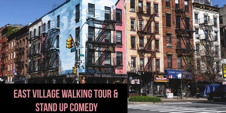 Union Square to East Village Walking Tour & Stand Up Comedy tickets