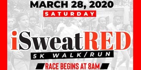 4th Annual iSweatRED 5K Fun Run and Health Fair tickets