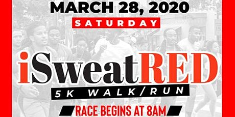 4th Annual iSweatRED 5K Fun Run and Health Fair tickets