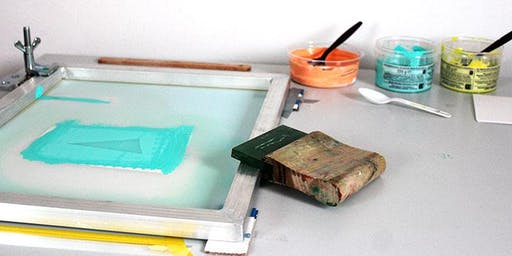 Workshop: Experiment with screen printing | Saturday 8 February