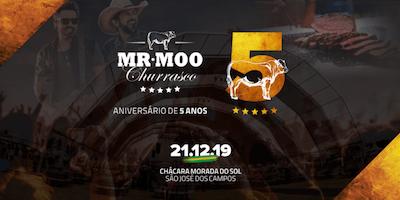 Mr.Moo Churrasco especial 05 anos