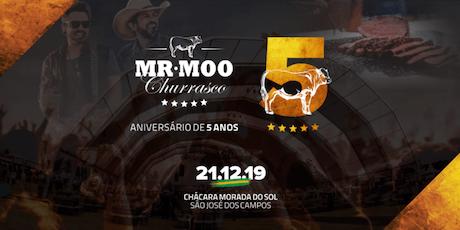 Mr.Moo Churrasco especial 05 anos ingressos