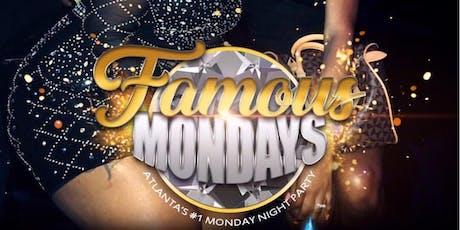 FAMOUS MONDAYS @ Blue Flame Lounge ATLANTA tickets