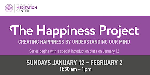 The Happiness Project: Creating Happiness by Understanding Our Mind