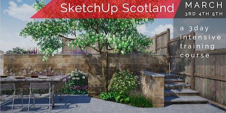 SketchUp Scotland 3Day course tickets