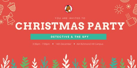 Christmas Party_ Detective & The Spy tickets