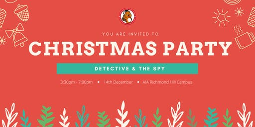 Christmas Party_ Detective & The Spy