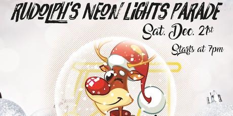 Rudolph's Neon Lights Parade - Golf Cart Registration tickets
