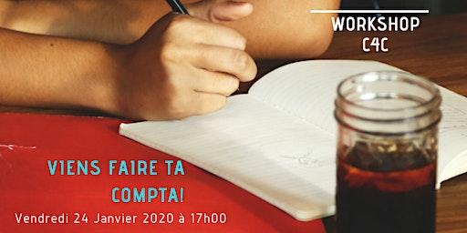 Workshop du 24 Janvier chez C4C, Ecole des métiers de la Gestion
