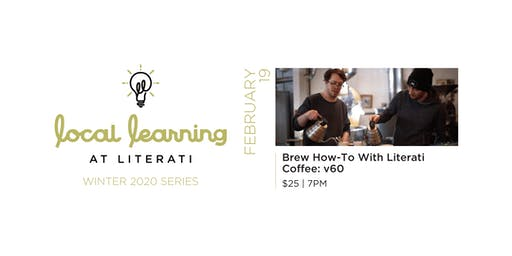 Brew How-To with Literati Coffee: v60