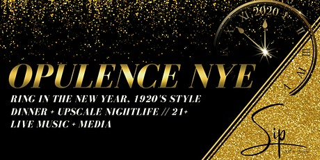 Opulence New Year's Eve tickets