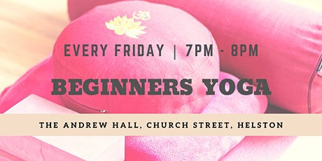 Beginners Yoga tickets