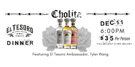 Cholita + El Tesoro Tequila Dinner tickets