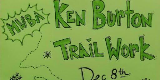 MWBA Ken Burton Trail Work Day