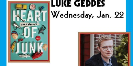 Luke Geddes - Heart of Junk tickets