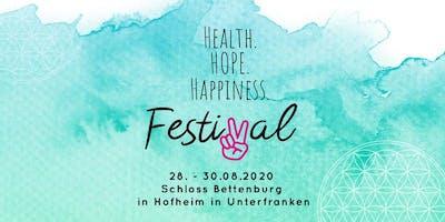 HEALTH. HOPE. HAPPINESS Festival