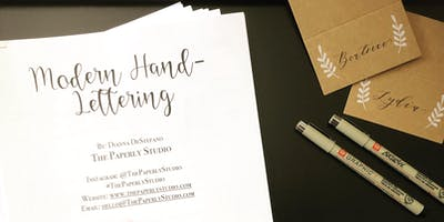 Hand-Lettering + Ornament Making Workshop