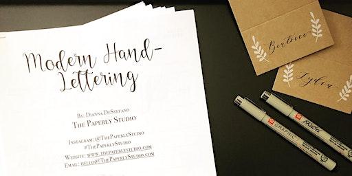 Hand-Lettering + Ornament Making Workshop