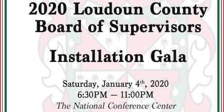 2020 Loudoun County Board of Supervisors Installation Gala tickets