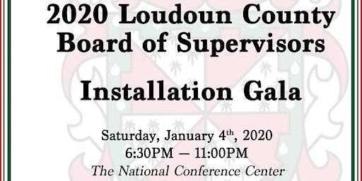 2020 Loudoun County Board of Supervisors Installation Gala