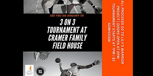 Lily's Warrior Project Presents: 3 on 3 Basketball Tournament