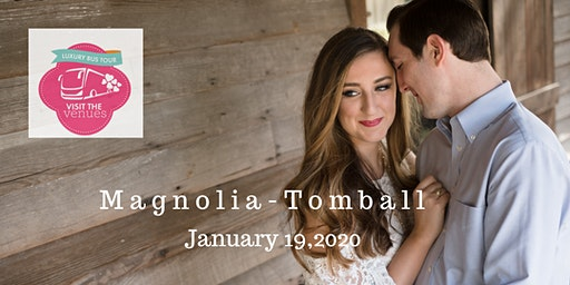 Visit the Venues Tomball/Magnolia - Luxury Bus Wedding Planning Event