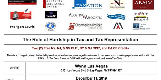 The Role of Hardship in Tax and Tax Representation