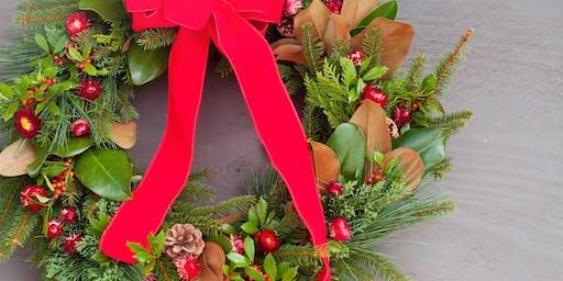 Holiday Greenery Wreath Workshop