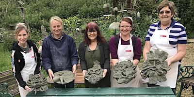 Green Man!- 1 day Sculpture Workshop using Pal Tiya Premium