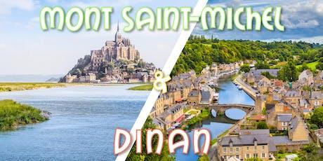 Weekend Mont Saint Michel & Cité médiévale Dinan billets