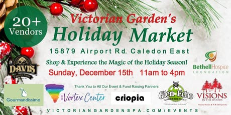 Victorian Garden's Holiday Market tickets