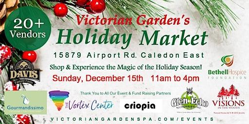 Victorian Garden's Holiday Market