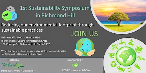 1st Sustainability Symposium in Richmond Hill