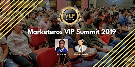 Marketeros VIP Summit 2019 entradas