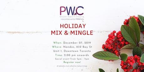 PWiC Toronto: Holiday Mix & Mingle tickets