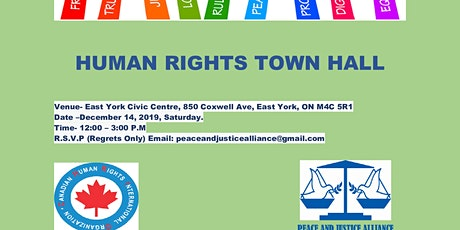 Human Rights Town Hall tickets