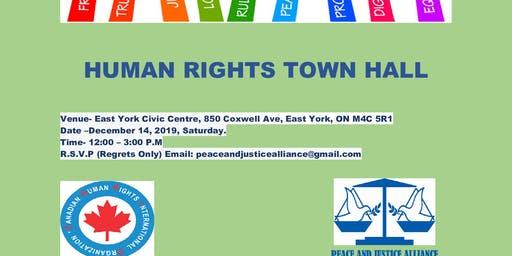 Human Rights Town Hall
