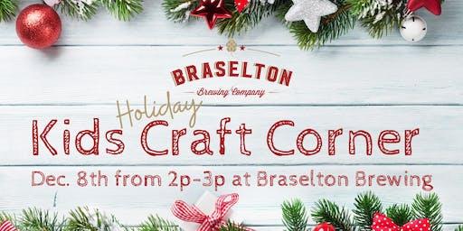 Kids Holiday Craft Corner