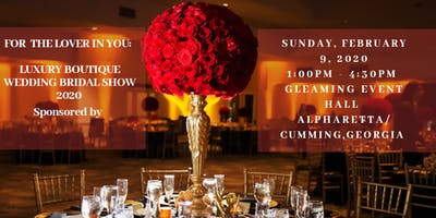 For The Lover In You - Luxury Boutique Wedding Bridal Show 2020