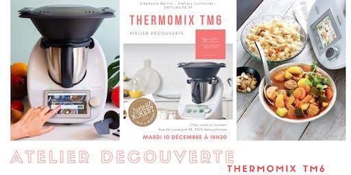 Atelier découverte Thermomix TM6 - Chez Juste un M