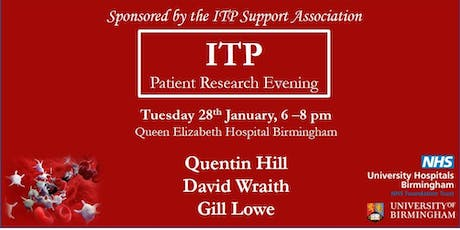 ITP Patient Research Evening tickets