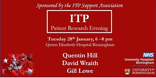 ITP Patient Research Evening