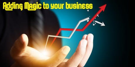 Adding Magic to Your Business (in person and online) tickets