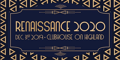 Renaissance2020: the NYE party worth staying in Bham for tickets