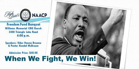 High Point NAACP Freedom Fund Banquet tickets