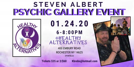 Steven Albert: Psychic Gallery Event - Healthy Alt 1/24 tickets